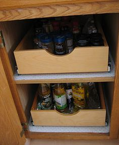 Diy Kitchen Pull Out Shelves