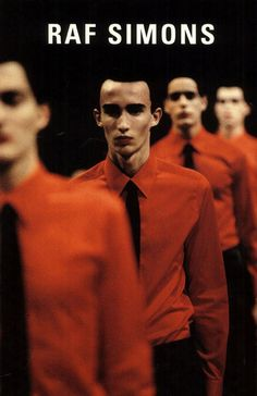 Kinetic Youth. Raf Simons Fall/Winter 1999 photographed by Bert Houbrechts