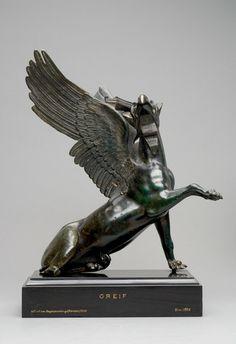 Adlergreif - Römisch-frühkaiserzeitlich Bronze, Hohlguss, H. 40 cm © Wien, Kunsthistorisches Museum.