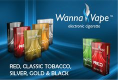 Starter-kit and 5 tobacco flavors
