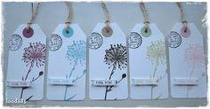 Loods83: Labels (1) en bloemen...