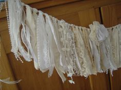 Torn Fabrics Tied Shabby Chic by sweetdaisyscloset on Etsy, $40.00