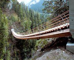 Suspension Bridge Staircase  http://weathertightroofinginc.com #rooferhemet #hemetroofer #rooferlocal #localroofer #roofrepair