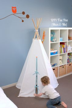 I know I keep pinning teepees, but this is a really excellent tutorial. Use this one!