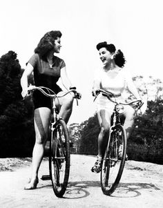 Hollywood actresses and sisters Lisa Gaye and Debra Paget c. 1950's