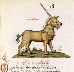Bestiary Animali Fantastici Unicorn, via Flickr.
