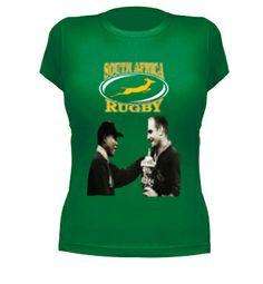 Camiseta South Africa Mandela #camisetas #rugby #mandela http://www.latostadora.com/emcmasquecamisetas