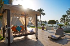 Doha Marriott Cabana's!
