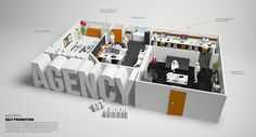 Wecom4u Agency by WECOM4U , via Behance