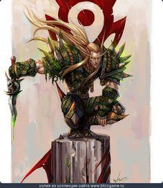 Blood-Elf-Rogue-2-By-Sia.jpg (1000×1156)