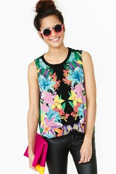 Paradise City Muscle Tee, nasty gal - $65