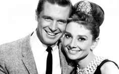 The Greatest Movie Couples Ever: George Peppard and Audrey Hepburn; As Paul Varjack and Holly Golightly in Breakfast at Tiffany's Audrey Hepburn Born, Audrey Hepburn Breakfast At Tiffanys, Audrey Hepburn Photos, Katharine Hepburn, George Peppard, Holly Golightly, Divas, Golden Age Of Hollywood, Old Hollywood