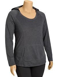 Women's Plus Active GoDRY Pullover Hoodies