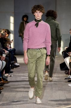 Officine Generale Fall 2017 Menswear Fashion Show - The Impression