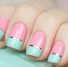 Afbeeldingsresultaat voor nail art korte nagels makkelijk