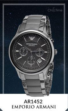 La montre Armani AR1452 et son design incomparable de la maison Emporio Armani idéalise le luxe absolu ! Son bracelet, conforme à son boîtier, de couleur noir et en céramique sont un parfait mélange de luxe et de modernité tendance.