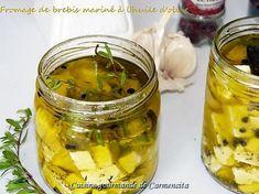 recette Fromage de brebis mariné à l'huile d'olive