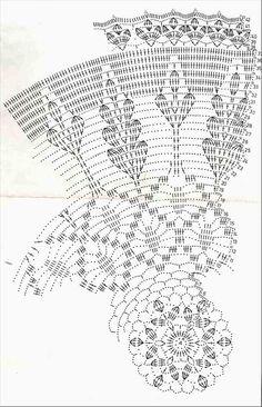 Débardeurs Au Crochet, Crochet Doily Diagram, Fillet Crochet, Crochet Doily Patterns, Crochet Mandala, Crochet Books, Crochet Round, Crochet Chart, Crochet Home
