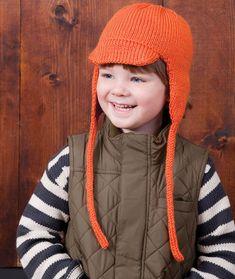 Cool Kid Earflap Hat