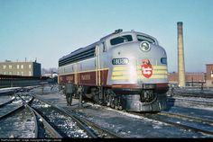 RailPictures.Net Photo: CPR 1802 Canadian Pacific Railway EMD E8(A) at Montreal, Quebec, Canada by Roger Lalonde