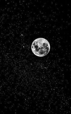 #moon #stars #love #night