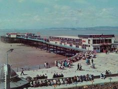 """Part One: To Hell With Blobbyland Before package holidays grew in popularity, Morecambe was known as Bradford-by-the-Sea. Owing to the """"Little"""" North Western Railway line via Carnforth,… Midland Hotel, Morecambe, Eden Project, Seaside Resort, Blackpool, Lancaster, Old Pictures, North Western, Places To Go"""