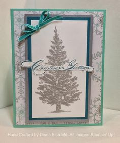 Stampin' Fun with Diana: Stampin' Stylin' INKspiration Blog: Special Season Christmas Card