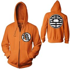 DragonBall Z Goku Kame Symbol Hoodie Dragon Ball Z King Kai Adult size Sweatshirts S-3XL Halloween Costume