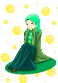 Sitting by adhwa.deviantart.com on @DeviantArt