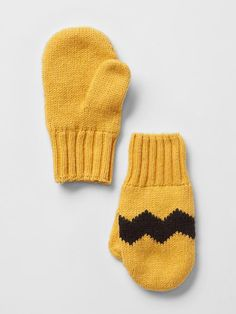 GapKids + Peanuts® intarsia chevron mittens - DUMMY VALUE
