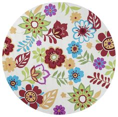 Harriet Bee Jaden Ivory Retro Floral Area Rug Rug Size: Runner x Area Rug Sets, Aqua Area Rug, Floral Area Rugs, Purple Area Rugs, Navy Blue Area Rug, Beige Area Rugs, Carpets For Kids, Butterfly Watercolor, Round Area Rugs