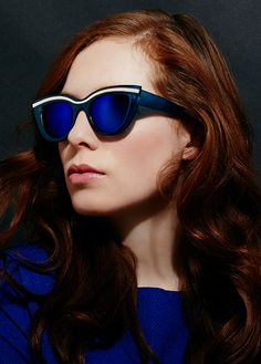 Scarlett Sunglasses - Scarlett drips glamour wherever she goes. She's the friend that looks put together each and every day. With a sense of style deserving of a Vogue spread, she drops jaws with her creativity and flare. She's the one you secretly hope will give you a makeover. You'll find Scarlett at the beach, at the office, at the club or in the pub – dressed to the nines and ready to shine.