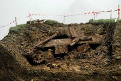 Panzer wreck