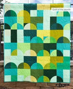 August 2017 Quilt of the Month: Industrial Revolution | MQG Community