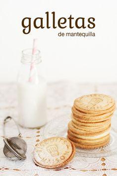 galletas de mantequilla | A mi lo que me gusta es cocinar