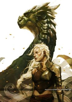Daenerys Targaryen ~ Game of Thrones ~ Stormborn by MischievousMartian.deviantart.com