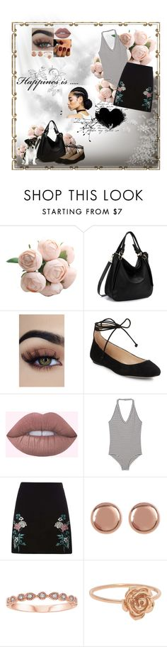 """""""Untitled #926"""" by my-designs-my-dream ❤ liked on Polyvore featuring Karl Lagerfeld, MANGO, Dorothy Perkins and Argento Vivo"""