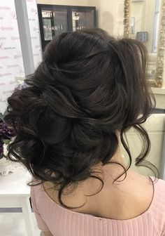 Wedding hairstyle idea wedding engagement hairstyles 2019 - wedding and engagement 2019 Quince Hairstyles, Evening Hairstyles, Bride Hairstyles, Engagement Hairstyles, Unique Wedding Hairstyles, Elegant Wedding Hair, Wedding Hair And Makeup, Wedding Updo, Wedding Engagement