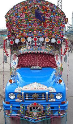 Pakistani truck art. So much awesome. Check out the flickr stream for more angles.