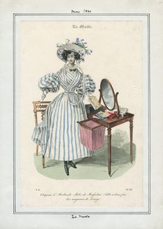 May 1830. Casey Fashion Plates. Los Angeles Public Library