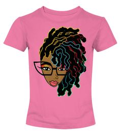 Afro hair T-shirt for Black women  #gift #shirt #ideas #momo #supermom #MothersDayShirt #ShirtforMom #sweatshirt #mothersday2017