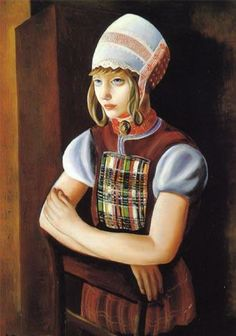 The Dutch Girl, 1922 -Moise Kisling Art Eras, Moise, Amedeo Modigliani, Moving To Paris, Marc Chagall, French Artists, New Artists, Great Pictures, Impressionist