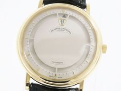 Vacheron Constantin Jumping Hour K18 Gold/ Auto Mens Watch 43040/000J(BF065496). Authenticity guaranteed, free shipping worldwide & 14 days return policy. Shop more preloved brand items at #eLADY: http://global.elady.com