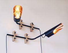 Wandlampe Kupfer von Herr Mandel auf DaWanda.com