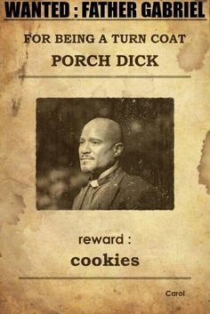 :) lol #ChrisHardwick #porchdick  #TheTalkingDead