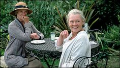 Ladies in Lavender - Publicity still of Maggie Smith & Judi Dench. The image measures 1600 * 1187 pixels and was added on 28 June Ladies In Lavender, Maggie Smith, Anne And Gilbert, Charles Dance, Judi Dench, Anne Of Green Gables, Drummers, British Actors, People
