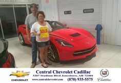 "https://flic.kr/p/spZv1d | Congratulations to Kelly  Ford on your #Chevrolet #Corvette purchase from Todd Wells at Central Chevrolet Cadillac! #NewCar | <a href=""http://www.centralchevrolet.com/?utm_source=Flickr&utm_medium=DMaxx_Photo&utm_campaign=DeliveryMaxx"" rel=""nofollow"">www.centralchevrolet.com/?utm_source=Flickr&utm_mediu...</a>"