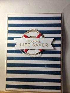 MFT nautical die-namics and big background stripes stamp!