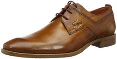 Bugatti Herren 312193061100 Derby, Braun (Cognac 6 Derby, Dress With Boots, Dress Shoes, Gents Shoes, Real Men Real Style, Sharp Dressed Man, Hot Shoes, Wedding Shoes, Me Too Shoes