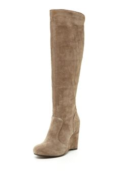 Born Crown Olana Wedge Boot. I got these in the camel color. Ooooh la la